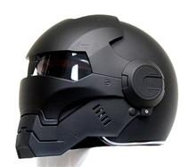 Личность мотоциклетный шлем мужчины Подлинной и женщины утюг 610 человек ретро высокого класса off-road мотоцикл черный