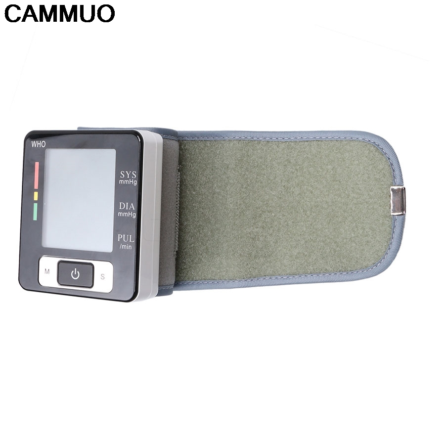 Health Care new tensiometro digital Blood Pressure Monitor Wrist tonometer Automatic Sphygmomanometer BP Blood Pressure Meter 1