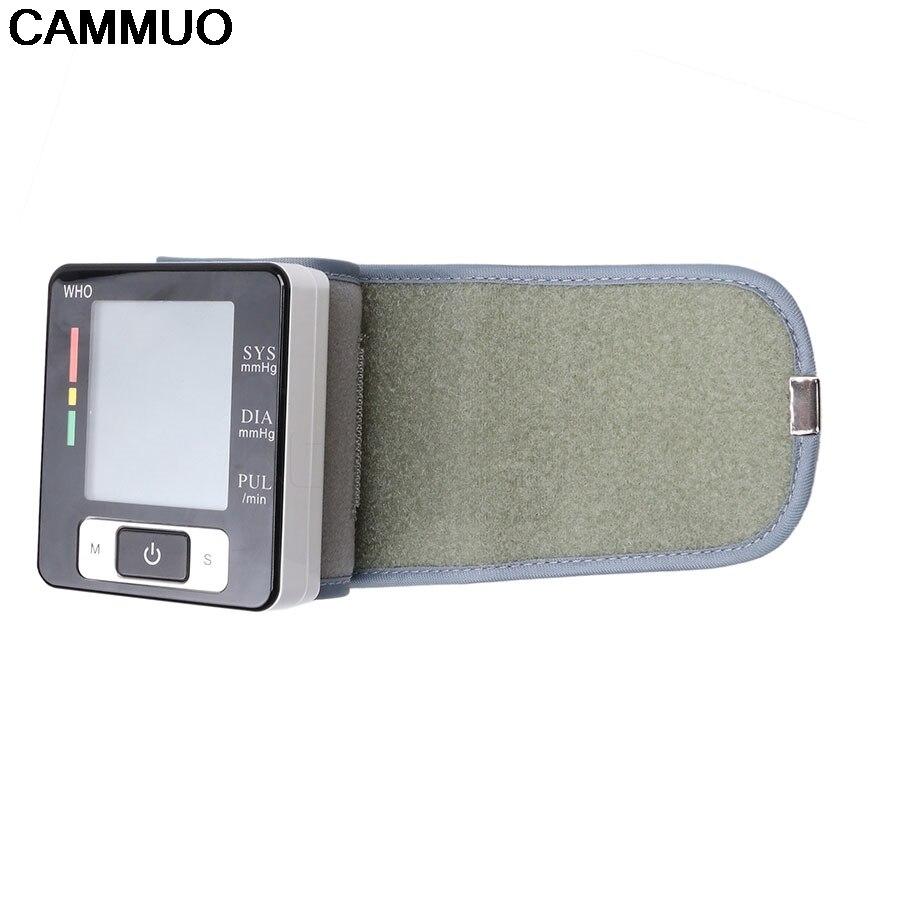 2018 New LCD Wrist Digital Blood Pressure Monitor Portable Tonometer Display Sphygmomanometer Health Diagnostic-Tool