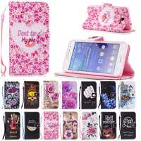 Grand Prime Case Leather Flip Cover Cases For Samsung Galaxy Grand Prime G530 SM - G531F G531H G530F G530H Capa Shell Coque Case