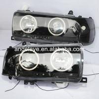 1990 1997 Year For Toyota for Land cruiser LC80 FJ80 Prado 4500 Angel Eye Headlights