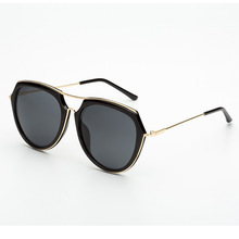 Women/Men Aviator Sunglasses Brand Designer steampunk Sun glasses Metal Ladies Shades