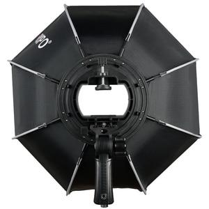 Image 2 - TRIOPO 65cm Octagon Umbrella Softbox with Honeycomb Grid For Godox Flash speedlite photography studio accessories soft Box