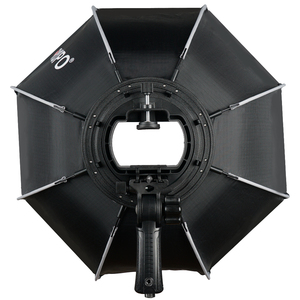 Image 2 - Triopo 55Cm 65Cm 90Cm Opvouwbare Octagon Softbox Bracket Mount Zachte Doos Handvat Voor Godox Yongnuo Speedlite Flash licht