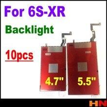 Pcs Para iphone XR 8 8 10p 7 6s plus 4.7 5.5 polegadas Novo Reparação Parte Substituição de Peças LCD 3D toque Backlight Film back light