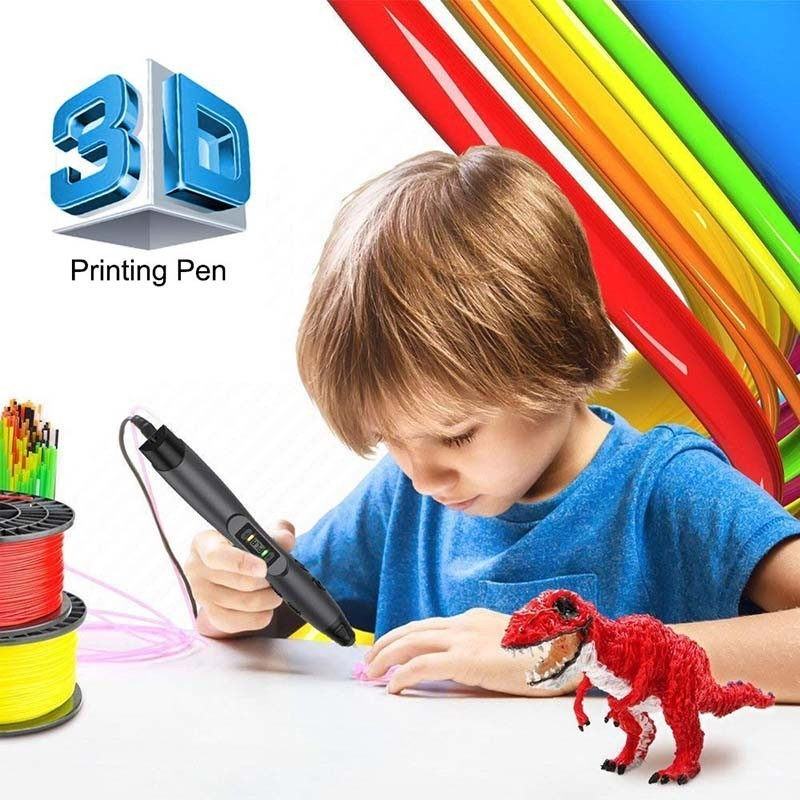 3D Pen SL-300A With USB Data Cable PLA/ABS/PCL 3 Models Filament 3D Printing Pen Birthday Gift For Children Explore Brains Tools3D Pen SL-300A With USB Data Cable PLA/ABS/PCL 3 Models Filament 3D Printing Pen Birthday Gift For Children Explore Brains Tools