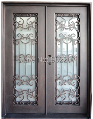 Ornamental Iron Entry Doors Rot Iron Gate
