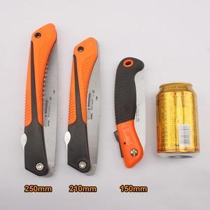"Image 3 - 6/8/10 ""Camping Saw 7TPIเหล็กตัดไม้Survival HandในครัวเรือนGarden Pruning Saw"