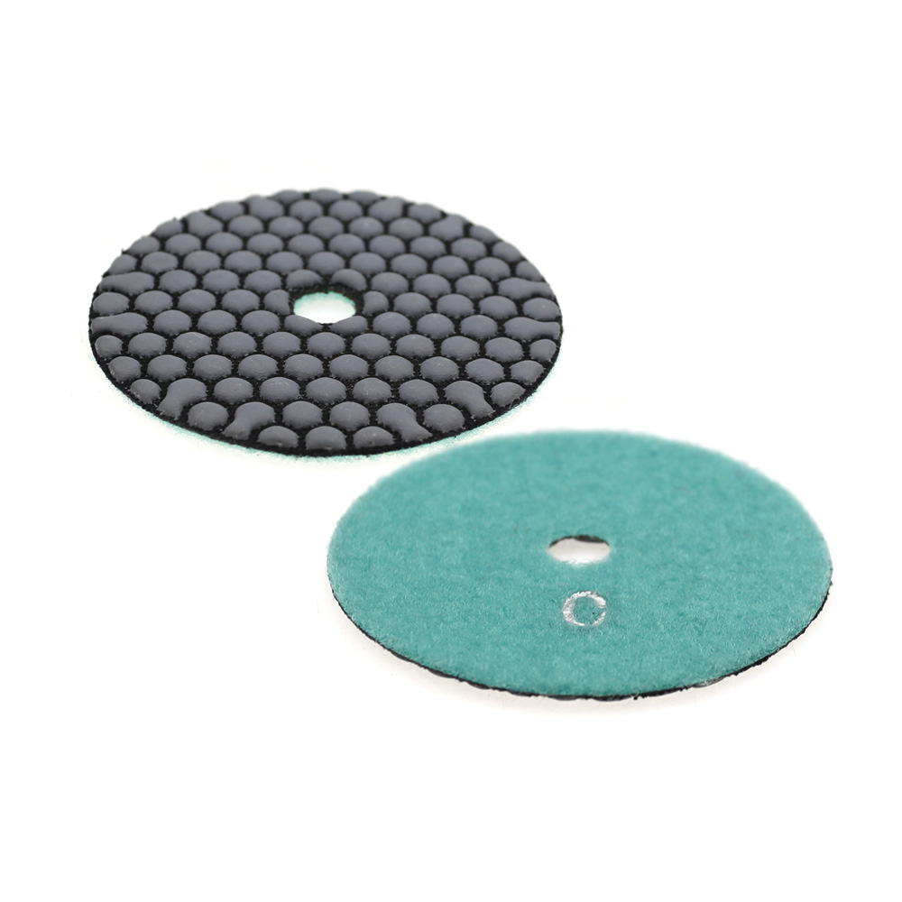 Dry Polishing Pads For Stone Marble Ceramic Tile Grinder Polisher Tool