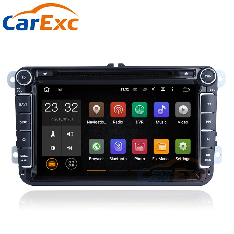1G RAM <font><b>Android</b></font> 9 Car Multimedia Stereo Player For VW Volkswagen <font><b>GOLF</b></font> 5 <font><b>Golf</b></font> <font><b>6</b></font> POLO PASSAT B7 T5 CC JETTA TIGUAN TOURAN RADIO image