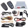 PKE Universal auto sistema de alarme com controle remoto do motor start stop & botão de arranque, toque de entrada de senha, entrada keyless passiva