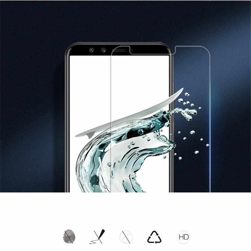 กระจกนิรภัยสำหรับ Huawei On Honor 8 9 10 lite 8X 7A Pro DUA-L22 ป้องกันหน้าจอ Y6 Y5 Y9 2018 prime ป้องกันฟิล์มแก้ว