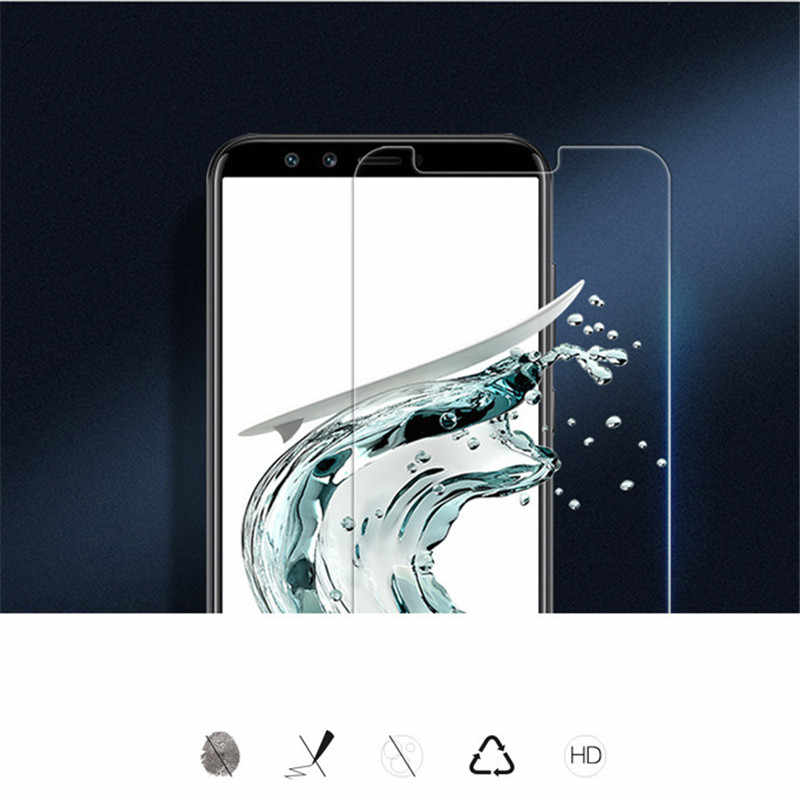 Tempered Glass for Huawei On Honor 8 9 10 lite 8X 7A Pro DUA-L22 Screen Protector Y6 Y5 Y9 2018 Prime Protective Glass Film