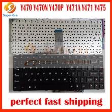 Сша клавиатура для lenovo y470 y470n y470p y471a y471 y475 сша клавиатура клавир с подсветкой с помощью отвертки