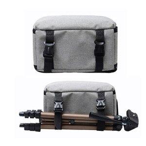 Image 4 - Sac Photo DSLR numérique sac à dos Photo pour Nikon Canon Pentax Sony avec housse de pluie étanche antichoc sac à dos appareil Photo de voyage