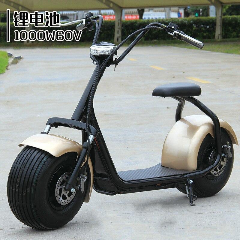 60 v vélo électrique Harley voiture adulte ebike batterie de voiture électrique motos scooter lithium chariot roue tricycle passagers