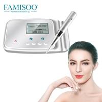 FAMISOO Digital M6 Permanent Tattoo Machine Pen Makeup Device PMU MTS for Eyebrow Eyeliner Lips Beauty Microblading Supplies