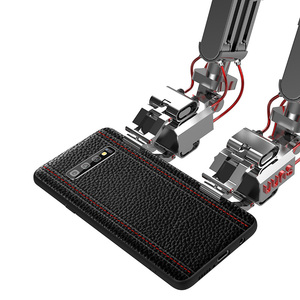 Image 2 - Étui pour samsung de luxe en cuir véritable S10 PLUS S10 S10E S10Lite