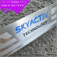 CAR Accessories 304 Stainless Steel Door Sill Scuff Plate Protector Skya Ctiv For 2014 Mazda 3