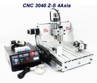 2016 Cnc Router 4 Axis 800w 3040Z S Ball Screw Mini Cnc Drilling Cutting Milling Samll
