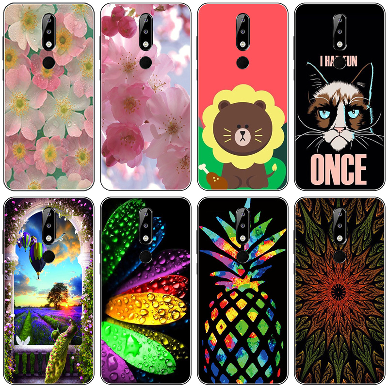 5.86'' For Nokia 5.1 Plus Case Silicone Soft TPU PhoneCase For Nokia X5 Case Cover For Nokia 5.1 Plus Full Protection Fashion