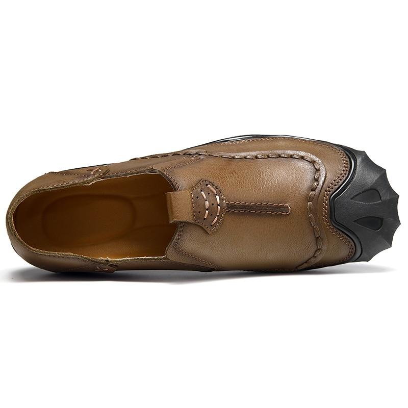 Cuir Chaussures Hommes Printemps De Marche Sans Se Confortable Qi Automne Lacets Véritable En Marque Nouveauté Mens 2017 Zong Décontractées ka cEPwgqIx