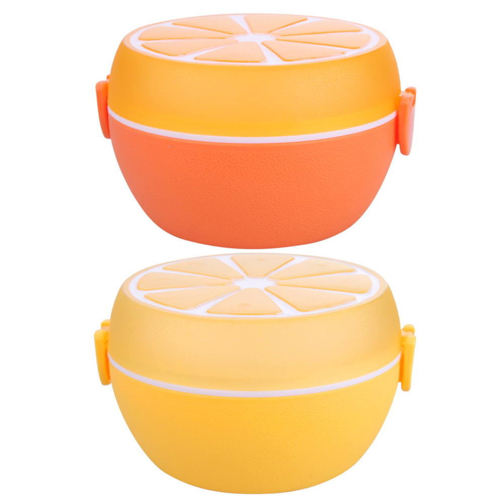Creative Lunch Bowl Cutlery Plastic Lunch Bento Storage Kids Bowl Food  Container Plate Dinnerware Sets(