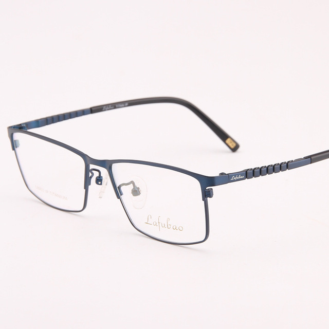 Eyewear Titanium Glasses Frame Eyeglasses Frames Men Optical Clear ...
