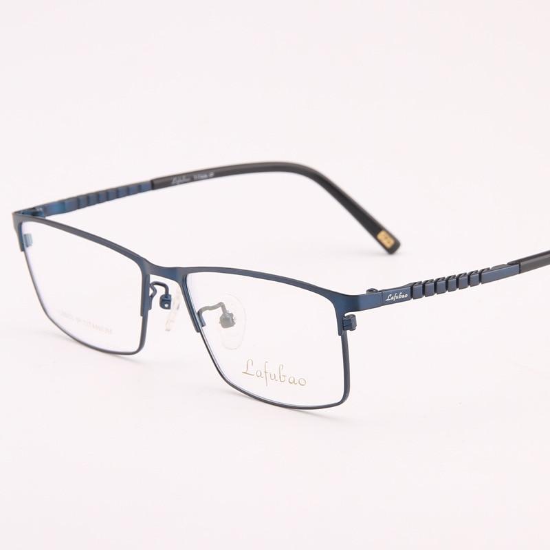 Lunettes titane lunettes cadre lunettes cadres hommes optique clair lecture Spetacle pour homme lunettes de Prescription 003