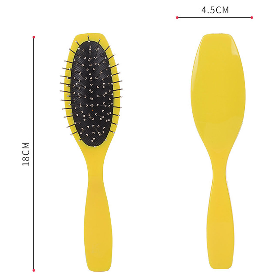 Купить с кэшбэком Anti-static Hair Detangles Massage Comb Wig Hair Care  Hairs Brush Beard Comb Salon Barber Home Beauty Hairdressing Styling Tool