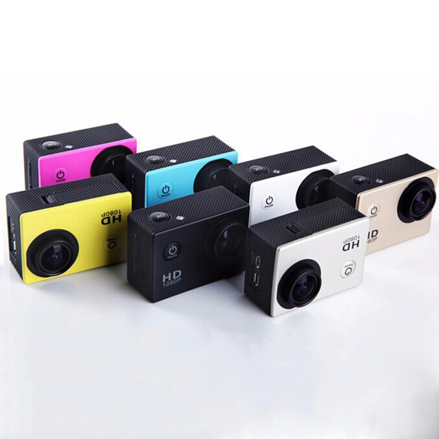 1080 Full-HD Mini Camcorders Mini Action Cameras 2 battery Sport DV Camera Video cameras Travel Camera DV Car For go pro style