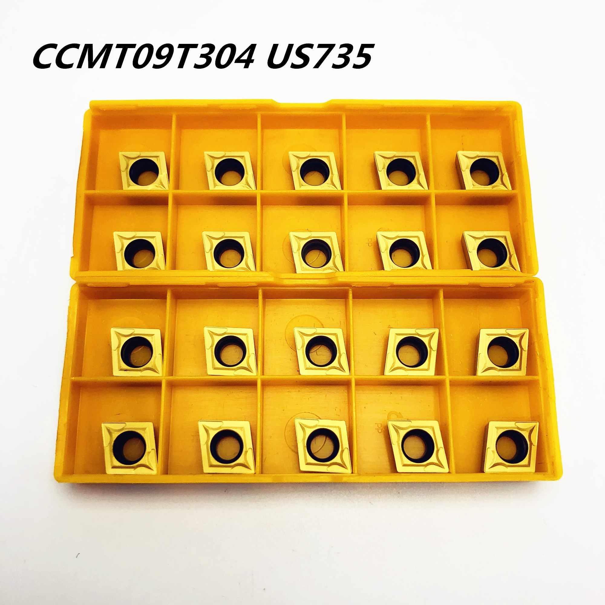 NEW 20pcs TCMT16T308 US735 TCMT3 2.5 2 CNC tool carbide inserts turning blade