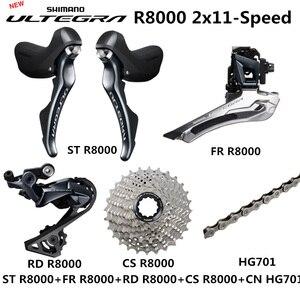 Image 1 - SHIMANO R8000 Groupset ULTEGRA R8000 Derailleurs  ROAD Bicycle ST+FD+RD+CS+CN Front Derailleur REAR DERAILLEUR CONTROL LEVER