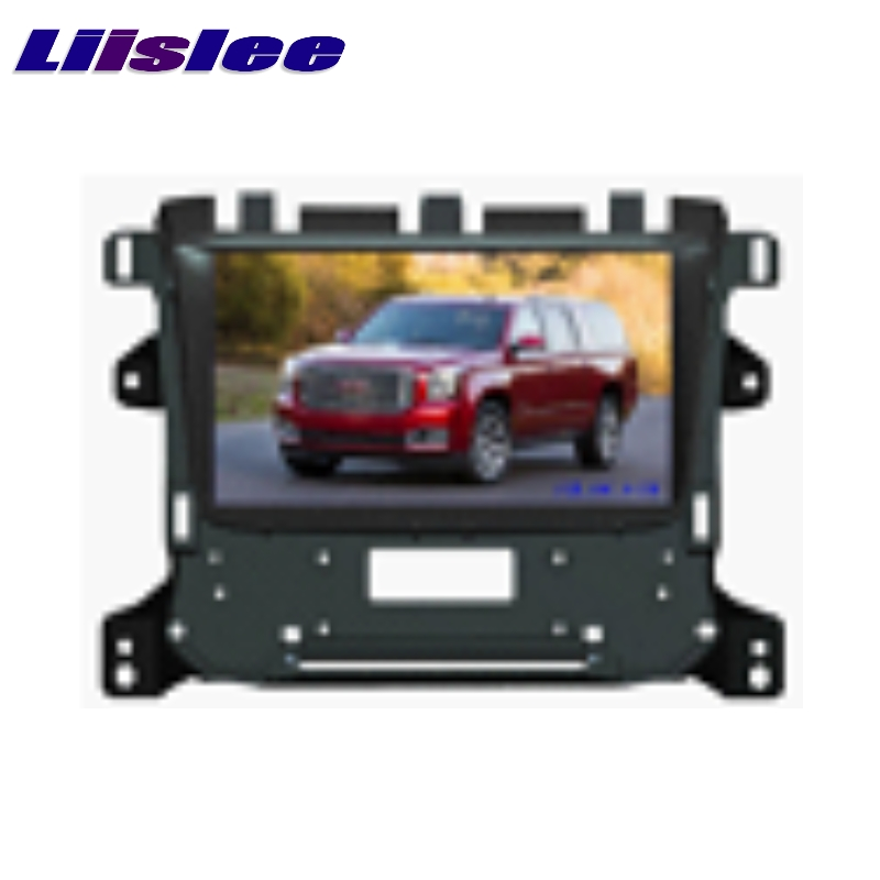 Для GMC Sierra/Денали/Canyon 2014 ~ 2017 liislee телевизор автомобильных мультимедийных dvd gps аудио Hi Fi радио оригинального стиль навигации
