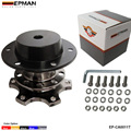 EPMAN - Titanium Steering Wheel Snap Off Quick Release Hub Adapter Boss kit Universal EP-CA0011T