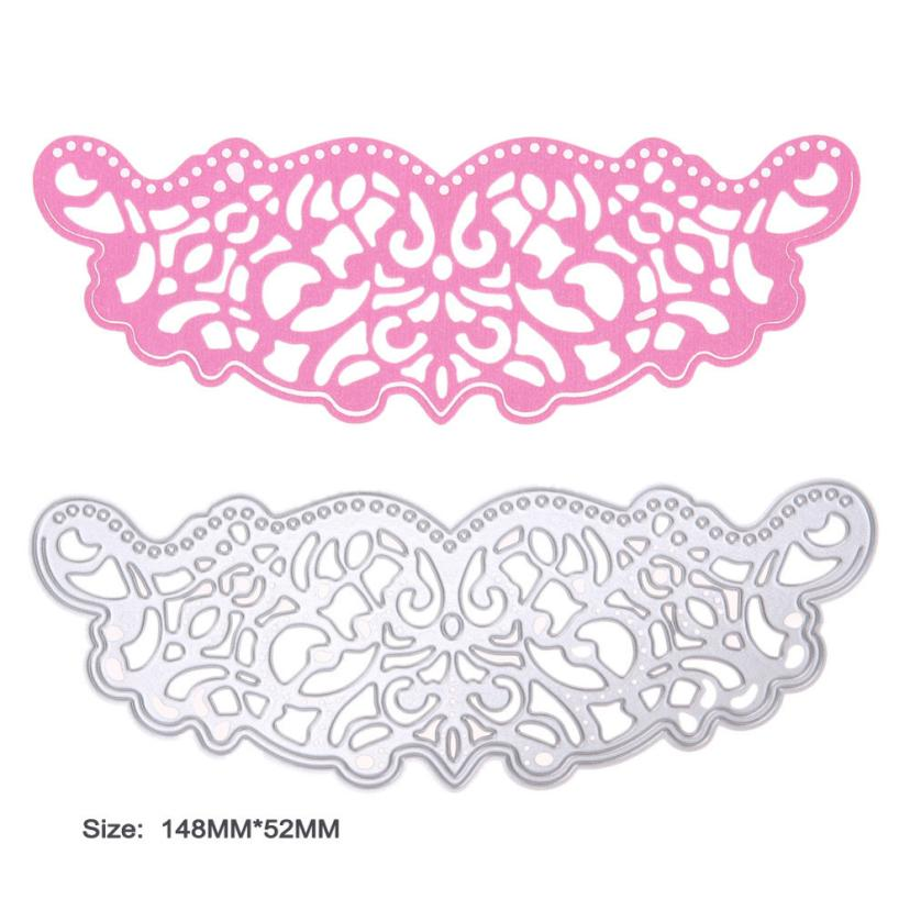 House LC New Flower Heart Metal Cutting Dies Stencils DIY Scrapbooking Album Paper Card Craft 18Apr23 Drop Ship