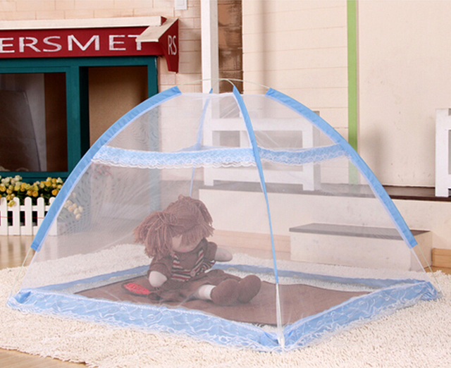 New Fodable Baby Mosquito Net Tent Blue PinkInfant Portable Baby Bed Crib Mosquito Bug & New Fodable Baby Mosquito Net Tent Blue PinkInfant Portable Baby ...