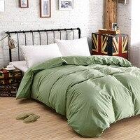 Capas de edredão de algodão one piece adulto gêmeo capa de edredão única cama queen size quilt cover frete grátis
