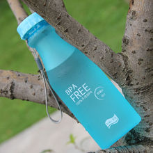 New Unbreakable Portable Leak-proof Sports Travel Water Bottle Cycling Camping 550ml BPA Free Leak Proof