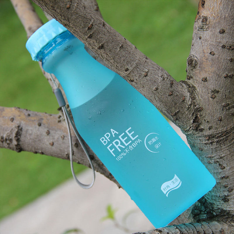 New Unbreakable Portable Leak-proof Sports Travel Water Bottle Cycling Camping 550ml BPA Free Leak Proof Sports Water Bottle