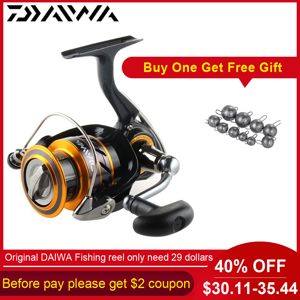 DAIWA Spinning Fishing Reel 5 3 1 MISSION CS 2000S 2500S 3000S 4000S Fishing Reels with