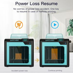 Image 4 - Impresora Anycubic 3D Impresora 4Max Pro Impresora LCD de alta precisión nivel de escritorio UM2 de gran tamaño impresión 3D Kit Diy
