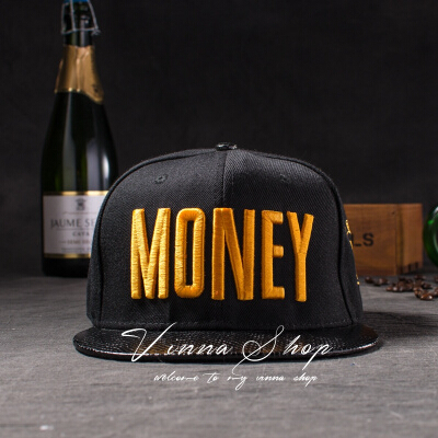 Новые модные мужские и женские повседневные кепки Snapback Swag MONEY Letters 3D Вышивка Хип-Хоп Кепка бейсбольная кепка s Bone Gorras для мужчин и женщин - Цвет: Цвет: желтый