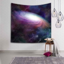Magnificent Big Bang Nebula Scenery Durable Wall Hanging Splendid Aurora Printed Tapestry Yoga Mat Rug Home Decor Art Decoration
