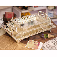 Elegant Plates Relief Dessert Fruit Cupcake Cake Stand Plate Fruits Tray Pallet Decoration Wedding Party Dishes & Plates 0102