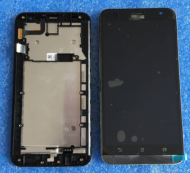 LCD screen display + Touch digitizer with frame For For 5.5'' Asus ZenFone 2 Laser ZE550KL Z00LD free shipping