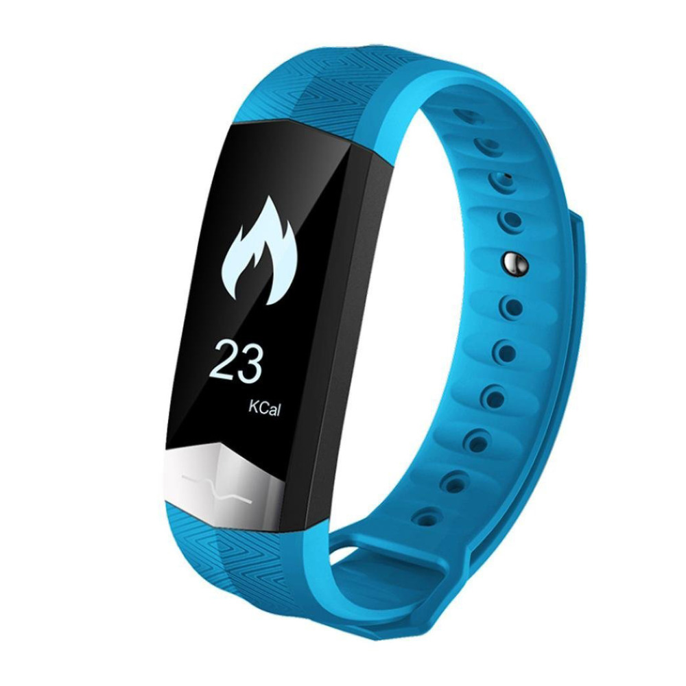 Bluetooth Smart Wristband ECG Display Heart Rate Blood Pressure Fitness Monitor Smart Bracelet for Samsung Galaxy A9 A8 A7 A5 A3