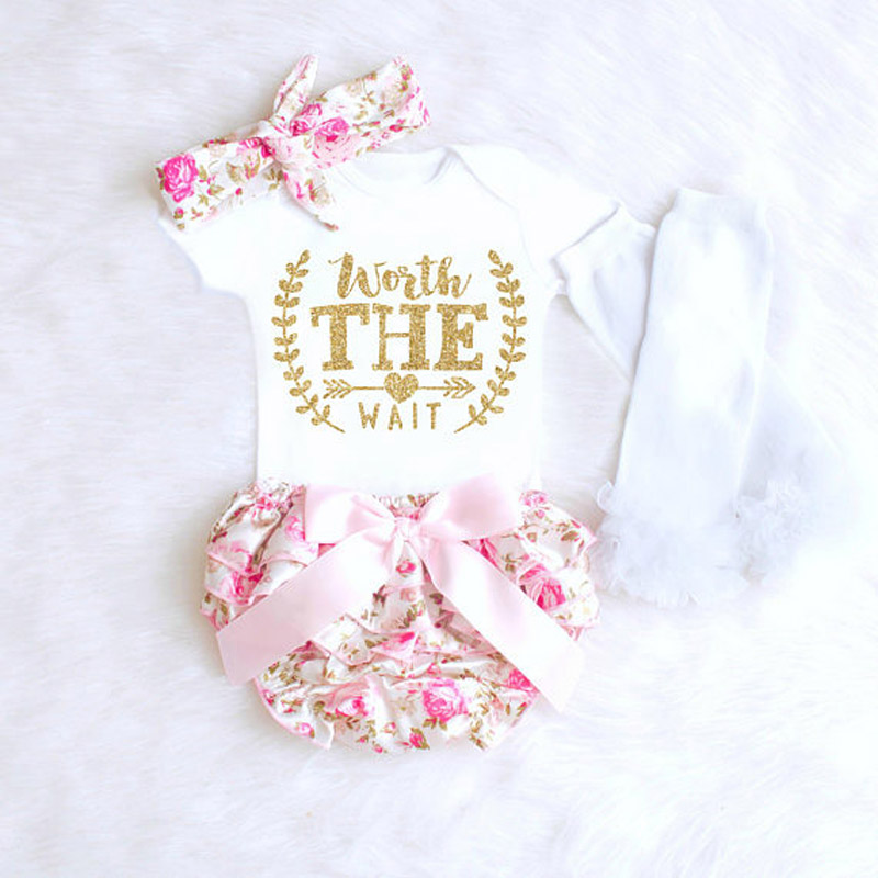 HTB1Zo 9aYsrBKNjSZFpq6AXhFXam 2018 new Newborn Baby Girls Clothes Playsuit Romper Pants+ Headband Outfit Set