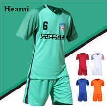 2016 2017 High Quality Blank font b Soccer b font Jersey Short Sleeved Quick Dry Men