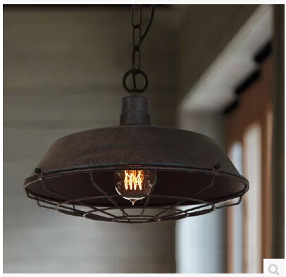 Здесь можно купить   Loft rural industrial restoring ancient ways pendant lamp restaurant bar lamp cafe lamp 36/46 CM black/rust color droplight Строительство и Недвижимость